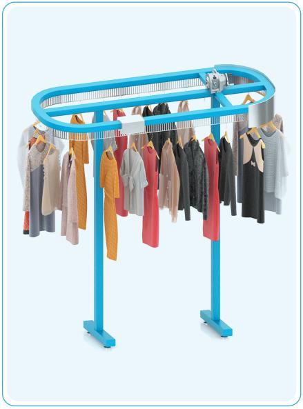 自动节能衣物输送线(310点)