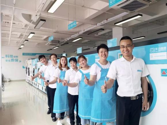 干洗店连锁加盟,东方瑞俪国际洗衣复合经营模式有潜力